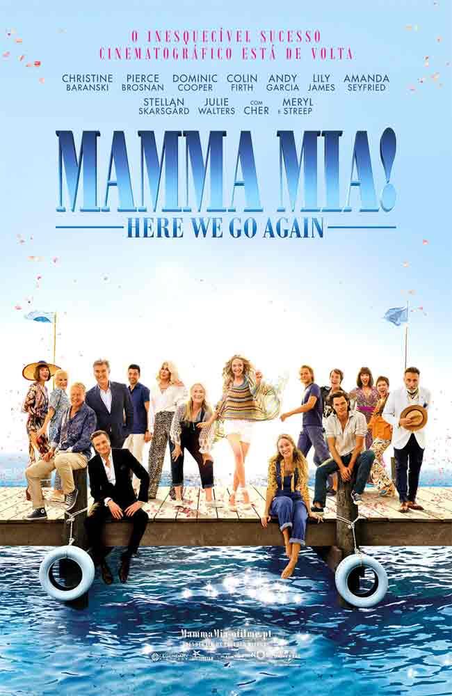 Ver o Descargar Mamma Mia 2 Vamos Otra Vez Pelicula Completa Online HD En Español Latino - Castellano - Subtitulado