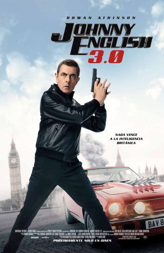 Descargar Johnny English 3.0 En Español Latino & Castellano