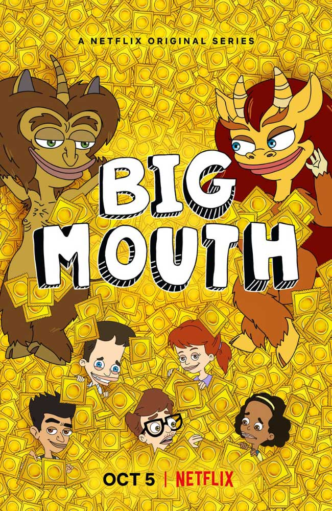 Ver o Descargar Big Mouth Temporada 2 Online Gratis HD