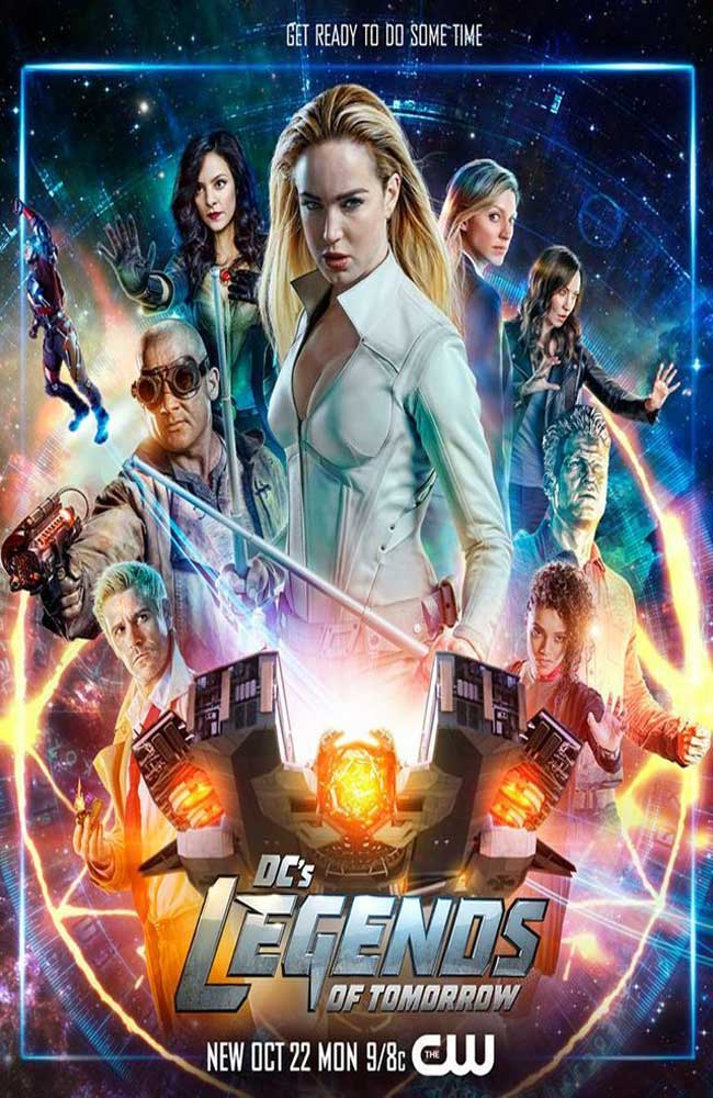Descargar DC's Legends of Tomorrow Temporada 4 En Sub Español Por Mega Online - Lista de Capitulos