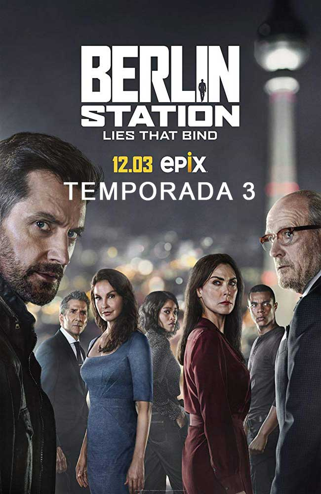 Ver o Descargar Berlin Station Temporada 3 Online Gratis HD