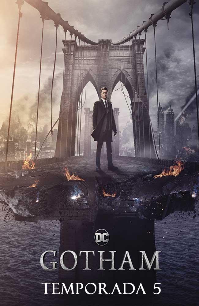 Descargar Gotham Temporada 5 En Español Latino – Castellano & Sub Español Por Mega Online - Lista de Capitulos