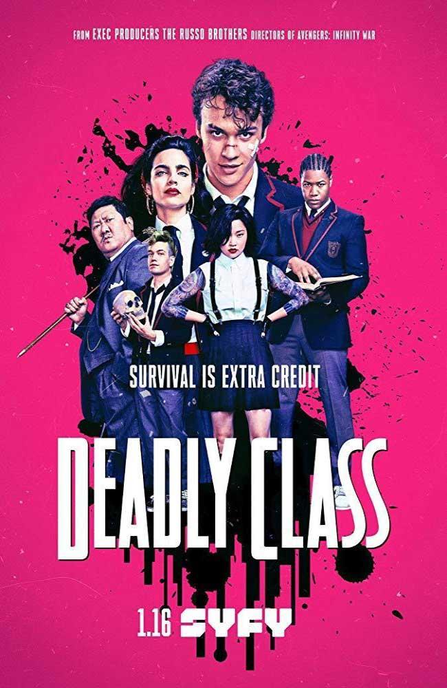 Ver o Descargar Deadly Class (Clase Letal) Temporada 1 Online Gratis HD