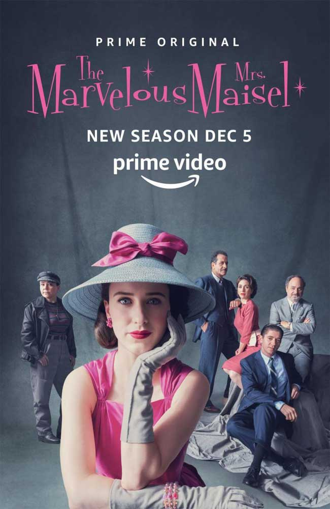 Ver o Descargar The Marvelous Mrs. Maisel (La Maravillosa Sra. Maisel) Temporada 2 Online Gratis HD