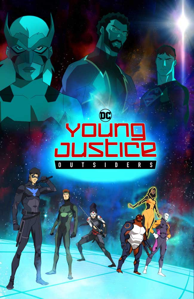 Ver Young Justice: Outsiders Online Gratis