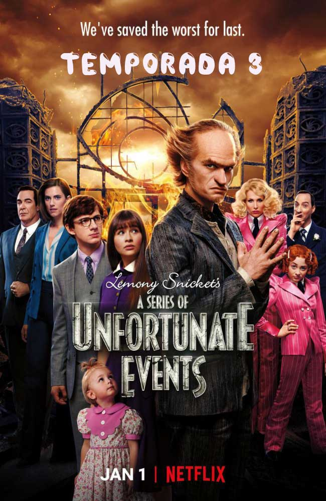 Ver Serie A Series of Unfortunate Events (Una Serie de Eventos Desafortunados) Online HD