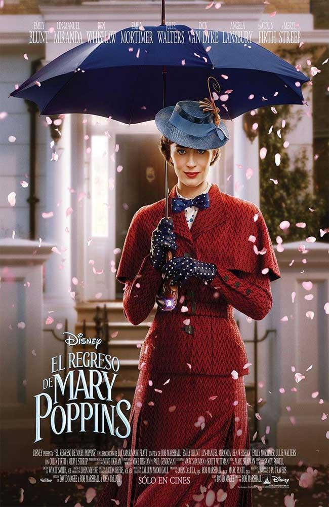 Descargar El regreso de Mary Poppins Pelicula Completa En Español Latino Por Mega Online Gratis