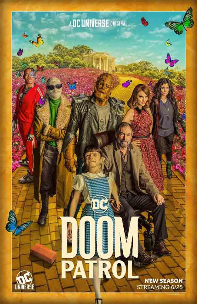 Ver Doom Patrol En Españaol Latino, Castellano y Subtitulado en Español