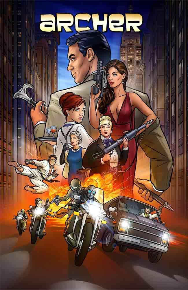Ver o Descargar Serie Archer Temporada 11 Online Gratis HD En Español Latino - Castellano & Subtitulado