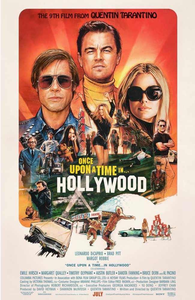 Ver Había Una Vez En... Hollywood Online HD