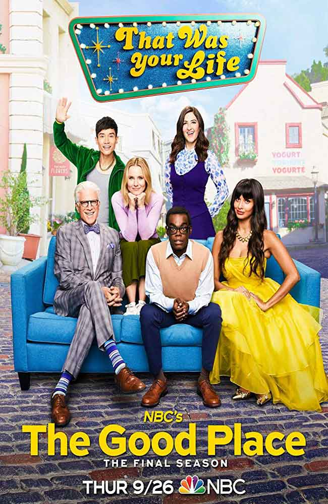Ver o Descargar The Good Place Temporada 4 Online Gratis HD En Español Latino - Castellano , Subtitulado