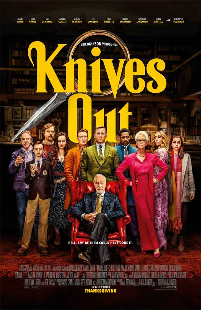 Ver o Descargar Entre Navajas y Secretos (Knives Out) Pelicula Completa Online HD