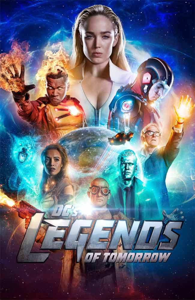 Ver DC's Legends of Tomorrow En Españaol Latino, Castellano y Subtitulado en Español