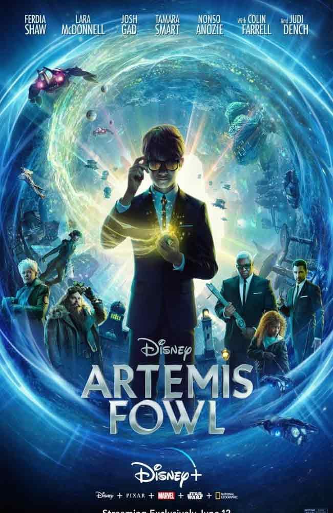 Ver o Descargar Artemis Fowl: El Mundo Subterraneo Pelicula Completa Online HD