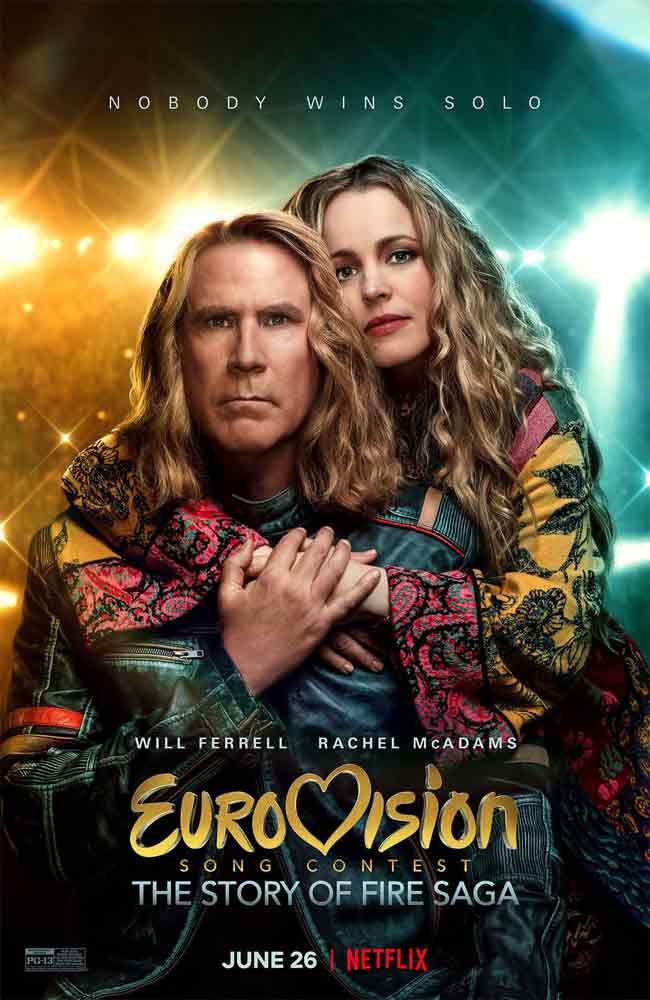 Ver Pelicula Festival de la Canción de Eurovisión: La Historia de Fire Saga Online HD