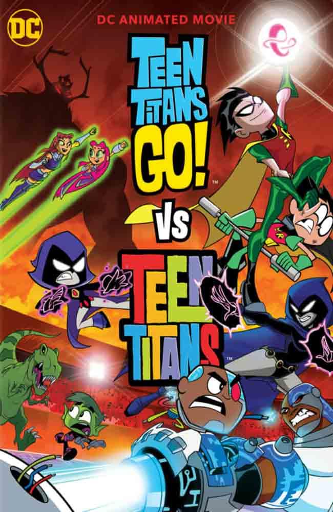 Ver o Descargar Teen Titans Go! Vs. Teen Titans Pelicula Completa Online