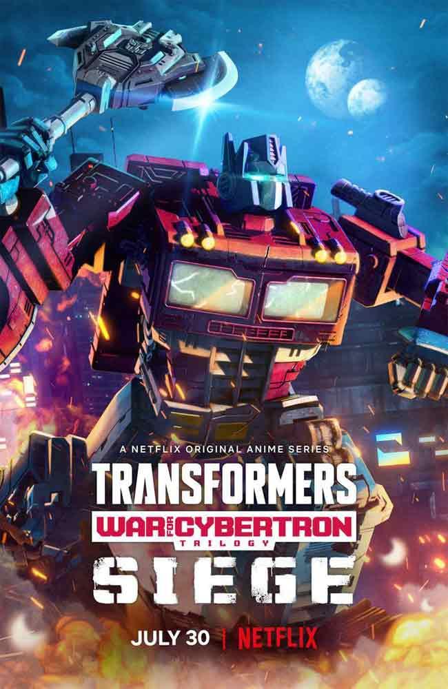 Ver Serie Transformers: Trilogía de la Guerra por Cybertron: Asedio Online HD