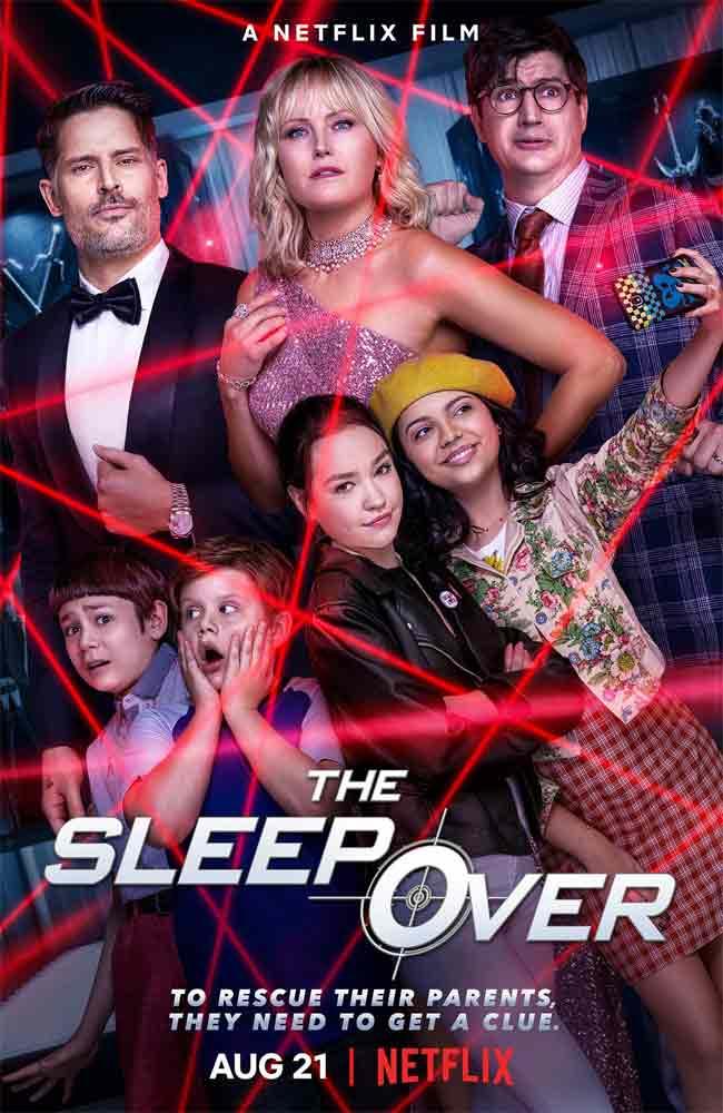 Ver o Descargar The Sleepover Pelicula Completa Online